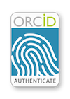 ORCID Authenticate badge